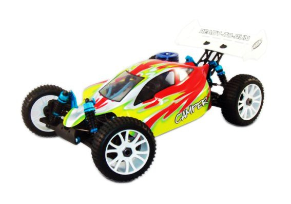 94760-76901 Багги HSP Camper PRO Nitro Off Road Buggy 4WD 1:8 - 94760-76901 Waterproof - 2.4G