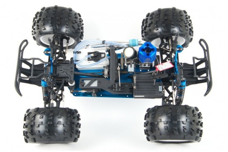 Внедорожник с ДВС HSP PRO Nitro Powered Off Road Truck 1:8 - 94762-08327 Waterproof - 2.4G