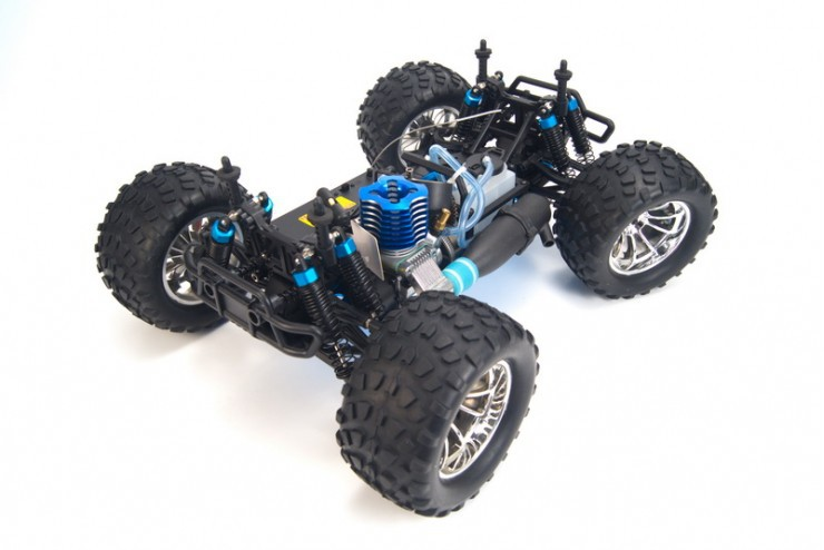 94188-25188-4 Джип с ДВС HSP 4WD Nitro Off Road Monster Truck 1:10 - 94188-25188-4 Waterproof - 2.4G