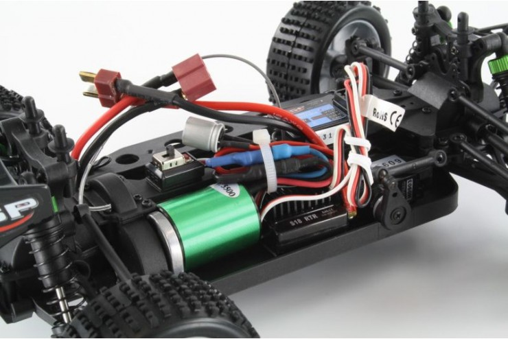 94803PRO-80398 Радиоуправляемая трагги HSP 4WD Brushless Truggy Ghost-PRO - 94803PRO-80398 - 2.4G