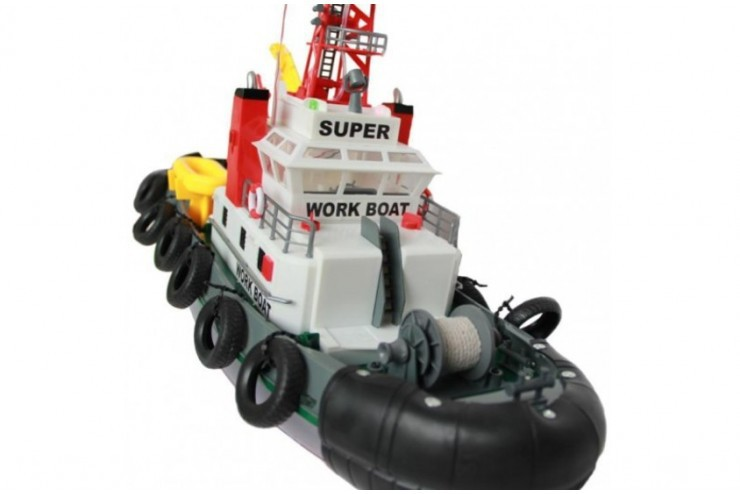 3810 Радиоуправляемый буксир Seaport Work Boat 40Mhz Heng Long 3810