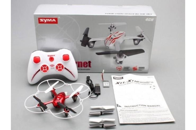 Радиоуправляемый квадрокоптер с камерой Syma X11C