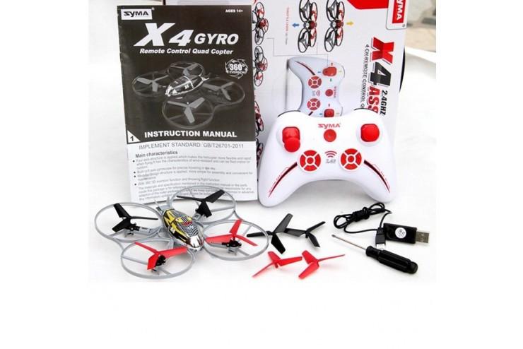 Радиоуправляемый квадрокоптер Assault 4CH 2.4G Syma X4