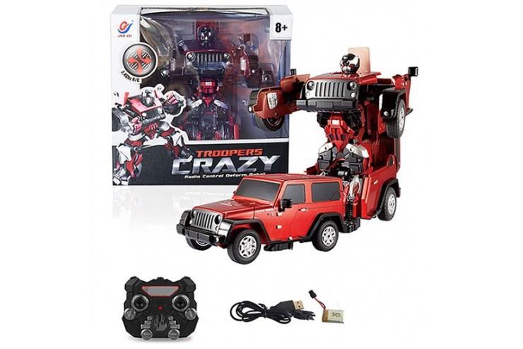 TT665 Радиоуправляемый робот-трансформер Troopers Crazy Jia Qi TT665