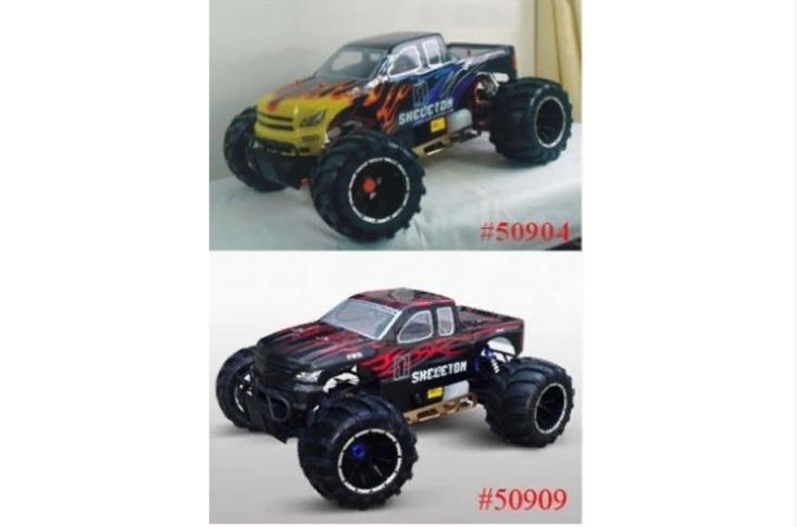 94050 Бензиновый монстр HSP Skeleton 4WD RTR масштаб 1:5 2.4G HSP 94050