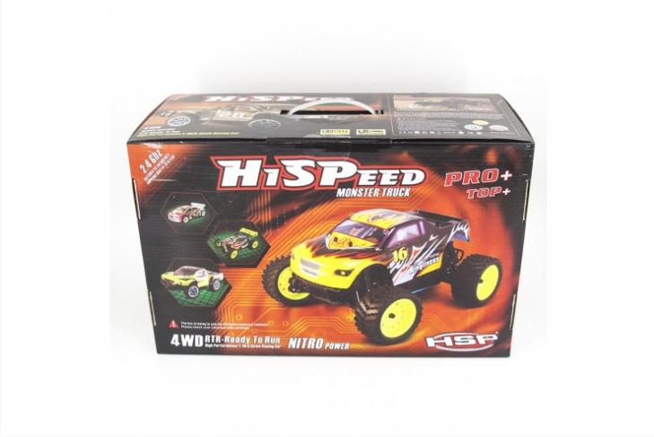 Радиоуправляемый краулер HSP Pangolin Electric Off-Road Long Crawler 4WD 1:10 HSP 94180L-88112