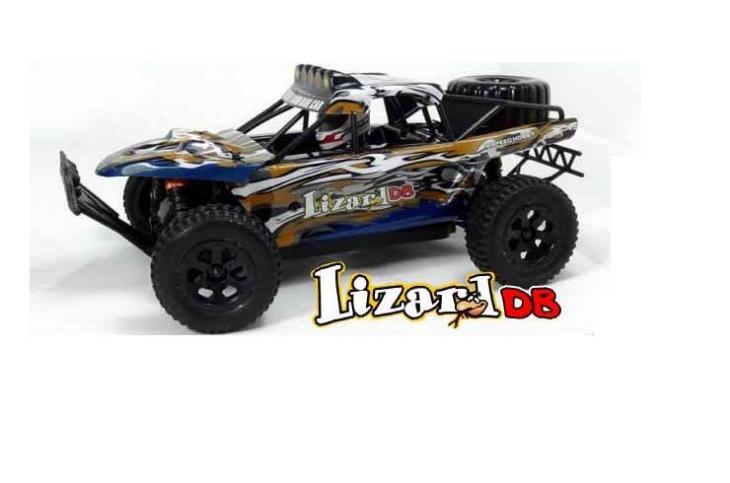 94809-80992 Радиоуправляемый внедорожник HSP 4WD EP Trophy Truck (Lizard DB) 1:18 4WD HSP 94809-80992