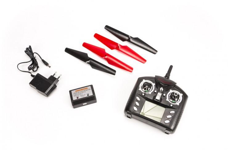 Радиоуправляемый квадрокоптер Camera Cyclone UFO Drones 2.4G WL Toys V262C