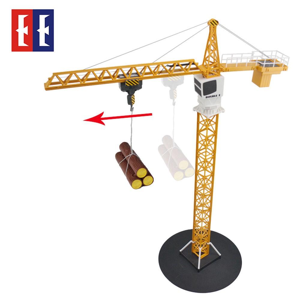 E563-003 Радиоуправляемый башенный кран масштаб 1:20