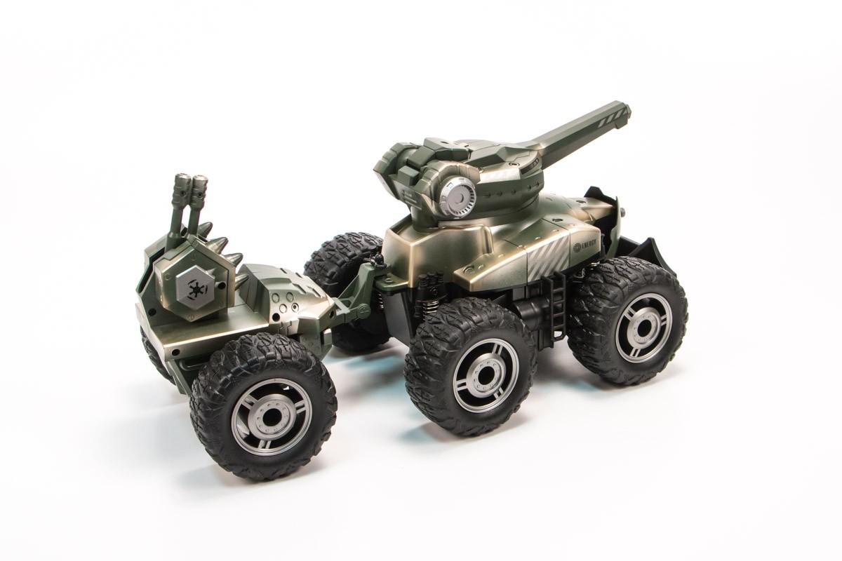 YE81502 Машина р/у Монстр. 6 колес. Стреляет шариками