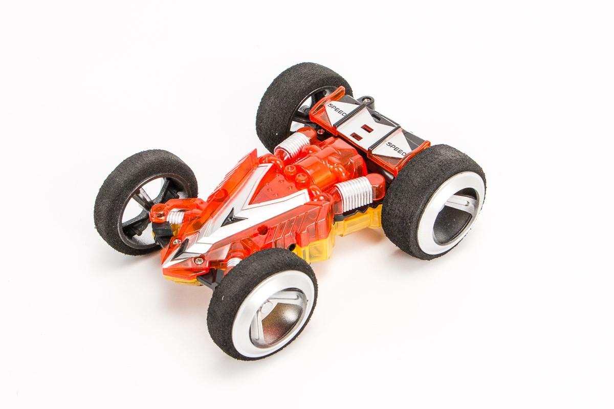 WL2308 Мини скоростная STUNT машинка, масштаба 1:32 на радиоупр. 5 скоростей. Корпус с двух сторон