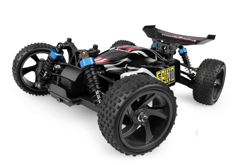 E18XBL Р/У Багги Himoto Spino BRUSHLESS 4WD 2.4GHz 1/18 RTR + Li-Po и З/У