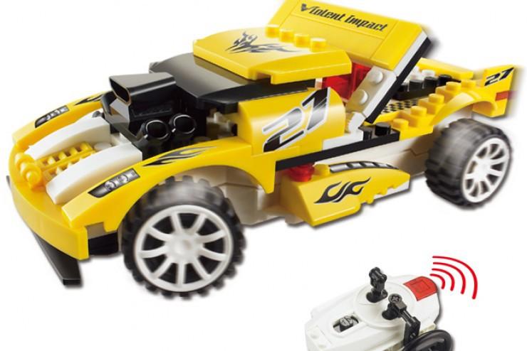 LXY10C Радиоуправляемый конструктор - автомобиль Lixiang Toys LXY10C