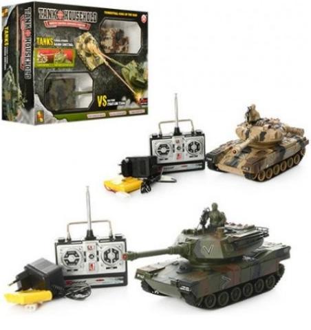YH4101C-5VS-7 Радиоуправляемый танковый бой Household YH4101C-5VS-7