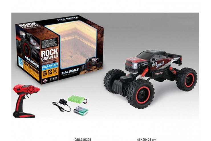 HB-P1401 Радиоуправляемый краулер Rock Crawler HuangBo Toys 4WD RTR 2.4G HuangBo Toys HB-P1401