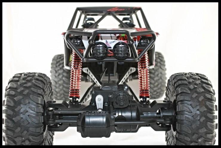 HB-P1001 Радиоуправляемый краулер Rock Crawler 4WD RTR 1:10 2.4G HuangBo Toys HB-P1001