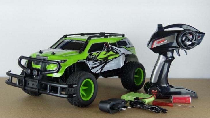 YE81506 Радиоуправляемый джип Monster Truck 4WD 1:10 2.4G YED YE81506