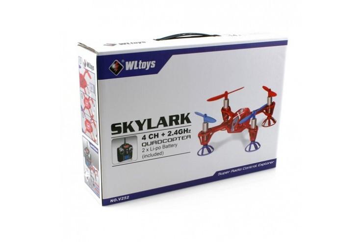 Радиоуправляемый квадрокоптер WL Toys V252 Pro Skylark 2.4G - V252
