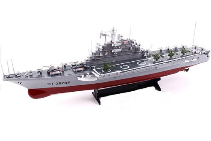 2878 Радиоуправляемый авианосец Heng Tai Speed Battle Ship 1:275 2878