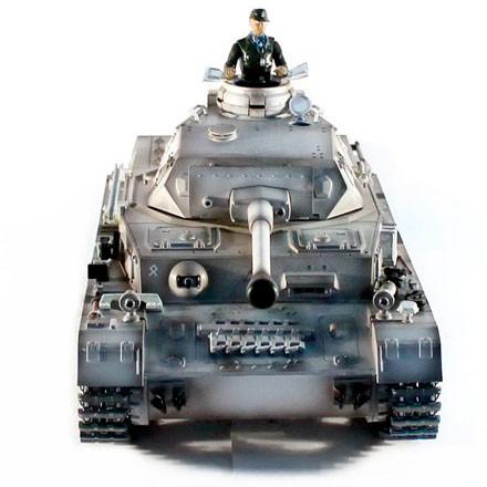 3859-1 Радиоуправляемый танк Heng Long Panzerkampfwagen IV F2 Ausf SD KFZ масштаб 1:16 40Mhz - 3859-1