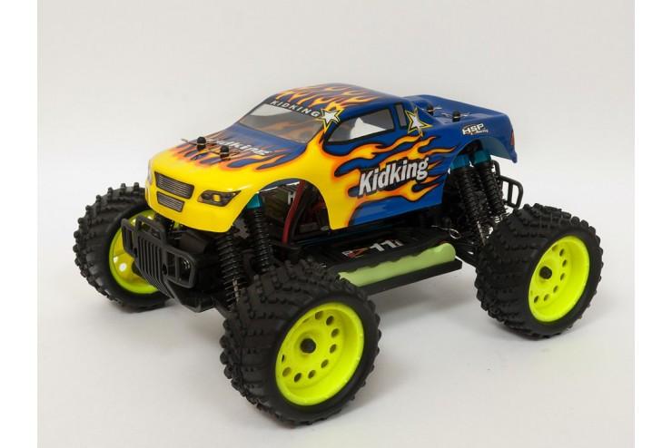 Радиоуправляемый монстр HSP KidKing 4WD RTR масштаб 1:16 2.4G HSP 94186-18601