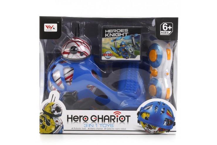 Робот Р/У свет+звук, с фигуркой Flying Fairy HY-888-1