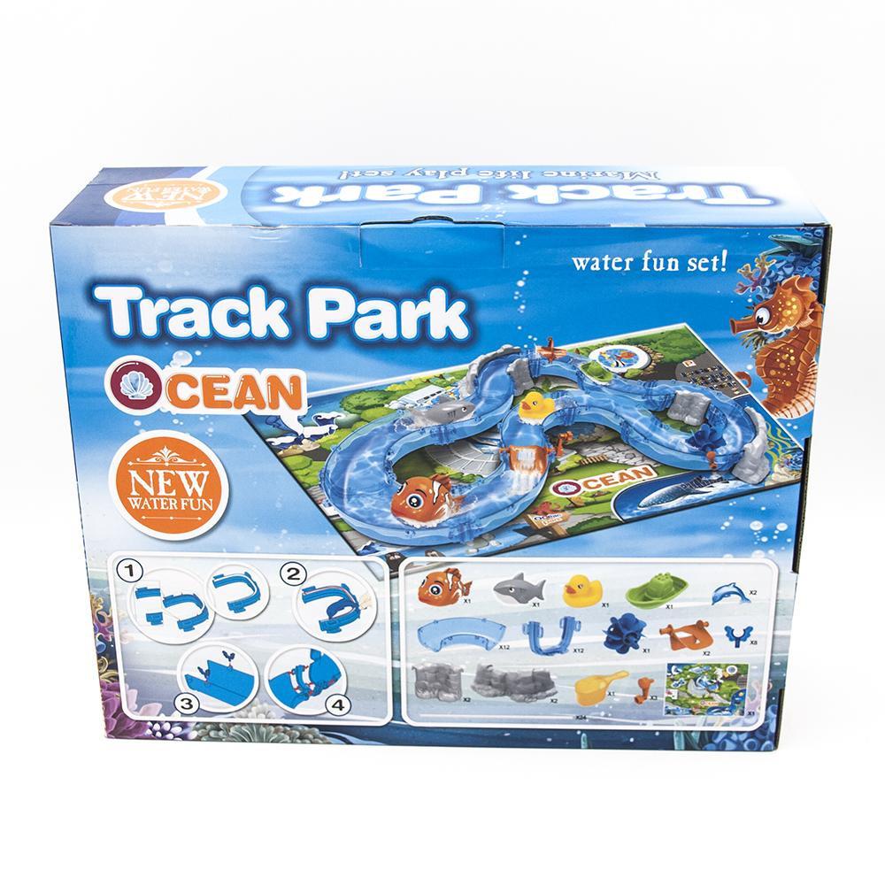 Детский водяной трек TENGLEADER Ocean Park, 74 детали - TL-69904