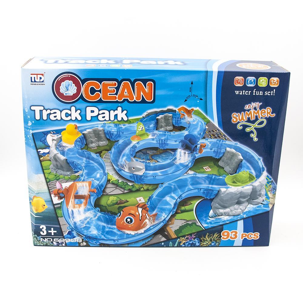 Детский водяной трек TENGLEADER Ocean Park, 93 детали - TL-69908