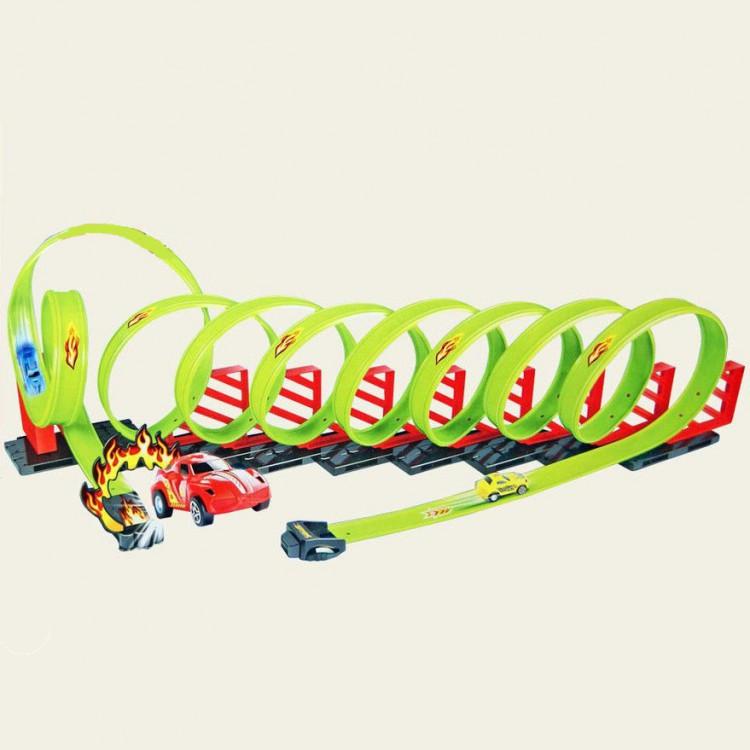 Детский пусковой трек TENGLEADER Track Racing длина трека 650 см - TL-68807