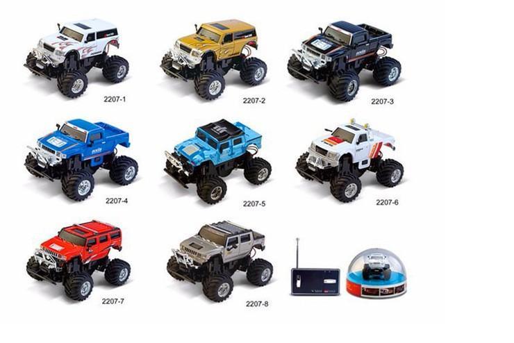 Радиоуправляемая машинка Great Wall Toys Hummer масштаб 1:58 - 2207