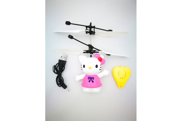 Радиоуправляемая игрушка - вертолет Hello Kitty Robocar Poli Robocar Poli 1406(HJ-0008)