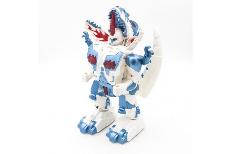 Радиоуправляемый робот трансформер 2 в 1 (робот и динозавр) Defa Toys DT-6028 DT-6028