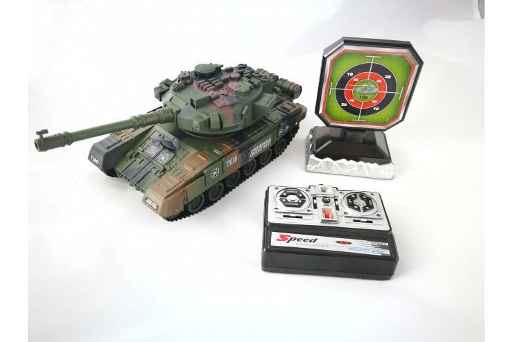 Радиоуправляемый танковый бой с мишенью Household Russia T-90 Household YH4101D-6