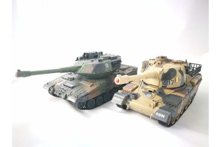 Радиоуправляемый танковый бой Household Household YH4101C-1VS-3