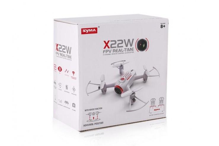 Радиоуправляемый квадрокоптер SYMA (FPV, WiFi, барометр) RTF 2.4G Syma SYMA-X22W