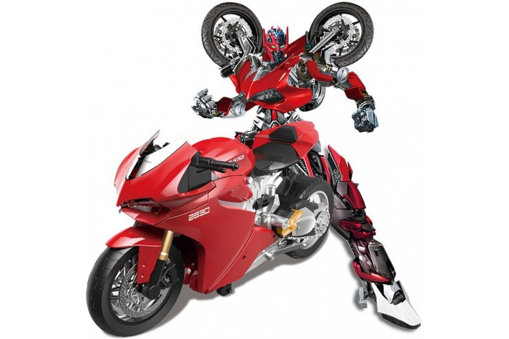 Радиоуправляемый мотоцикл Duccati - трансформер 1:14 Meizhi MZ-2830P