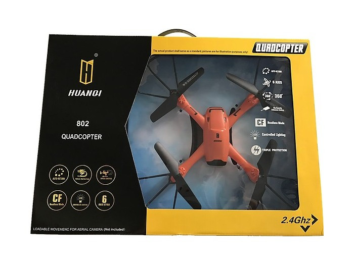 Р/У квадрокоптер Huan Qi HQ802 с FPV трансляцией Wi-Fi HeadFree 2.4G RTF HQ802