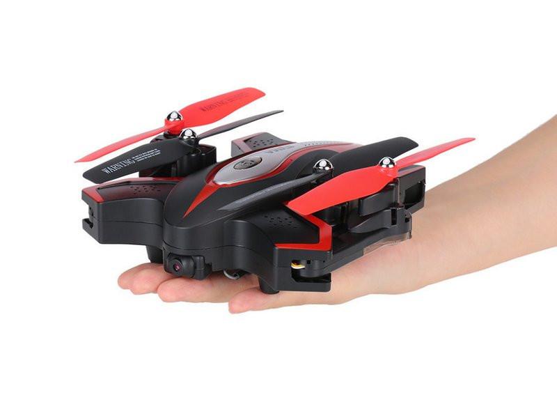 Р/У квадрокоптер Syma X56W Folding Wizard с FPV трансляцией Wi-Fi, барометр, 2.4G RTF X56W
