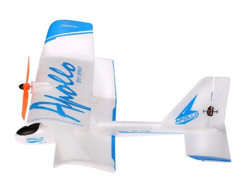 Р/У самолет Feilun Apollo 300мм Mini Indoor Biplane 2.4G 2-ch RTF HF-Z4