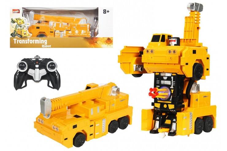 Трансформер 1:14 Автокран (стреляет присосками) Meizhi MZ-2381PF