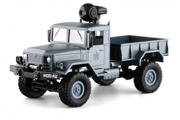 Радиоуправляемый краулер с wifi камерой, колеса, 4WD RTR масштаб 1:16 2.4G Feiyue FY001AW fy001aw