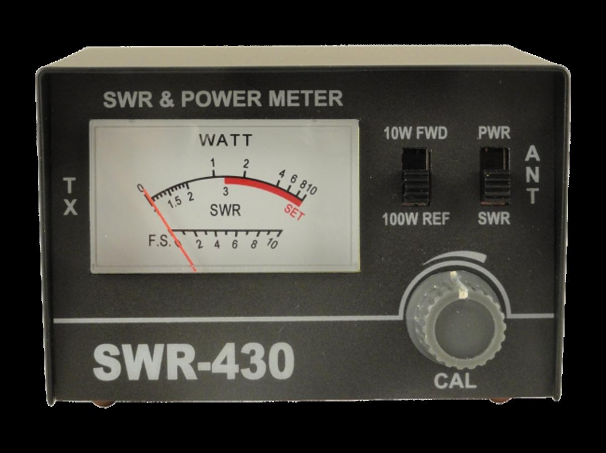 SWR-430 КСВ-метр с возможностью измерения мощности