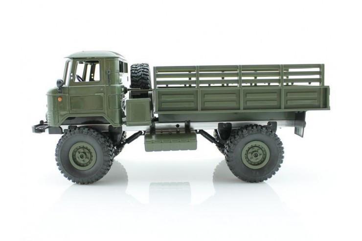 Радиоуправляемая машина WPL Газ 66 грузовая 1:16+акб RTR 2.4G WL Toys B-24