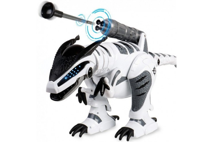 Радиоуправляемый интерактивный динозавр (стреляет присосками) Le Neng Toys LNT-K9