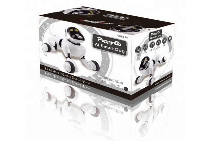 Интеллектуальный щенок-робот собака PuppyGo APP HeliMax HM1803