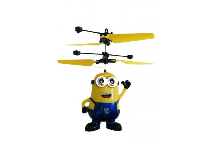 Летающий синий миньон *Дэйв* со светящимися глазами CS Toys CS Toys 388