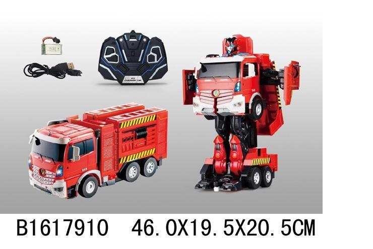Радиоуправляемый робот-трансформер Jiaqi Пожарная Jia Qi JQ6608