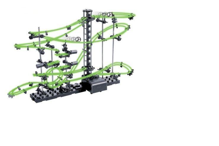 Динамический конструктор Космические горки, светящиеся рельсы, уровень 2 SpaceRail 231-2G