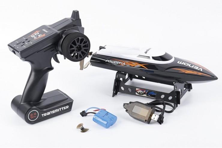 Радиоуправляемый катер UdiRC Power Venom 2.4G UDI UDI001