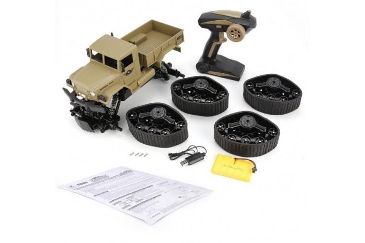 Радиоуправляемый гусеничный краулер-амфибия Zegan 4WD RTR масштаб 1:12 2.4G ZEGAN ZG-C1231WS